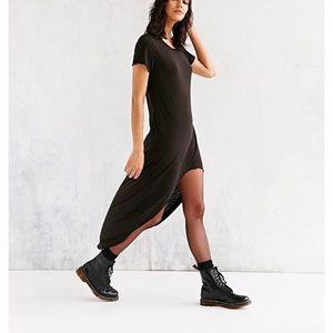 Urban Outfitters high low t-shirt maci dress XS